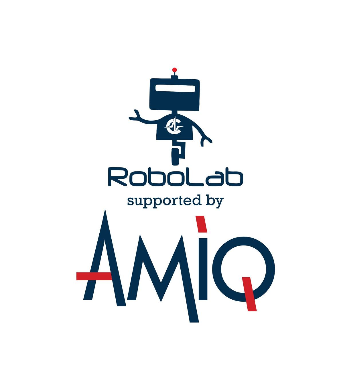 Robolab supported by AMIQ